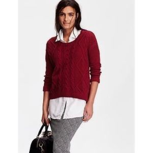 Old Navy Cable Knit Cocoon Sweater